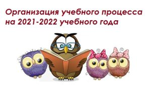 Организация учебного процесса 2021-2022